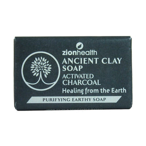 Activated Charcoal Clay Soap, Coconut Oil, Shea Butter, Acne, Dermatitis, Eczema, Dry Skin, Facial Soap, Face Scrub, Blackheads, Fine Lines