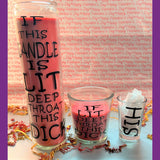 Sex Candles| Naughty Candles with sex shot glasses| Dirty Candles| Sex Gift| Kinky Gift| Naughty Gift for him and her