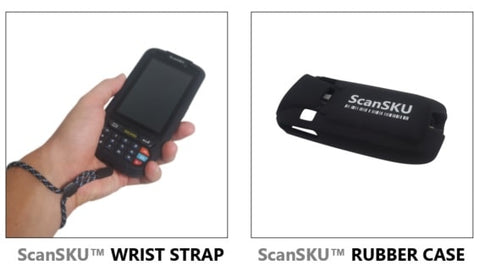 android barcode scanner rubber case