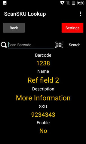 Barcode Lookup Database