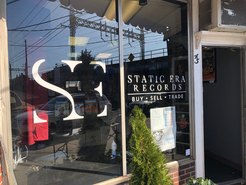 Static Era Milford CT Record Store