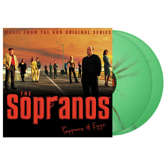 The Sopranos - Peppers & Eggs 2xLP (Prozac & Booze Splatter)