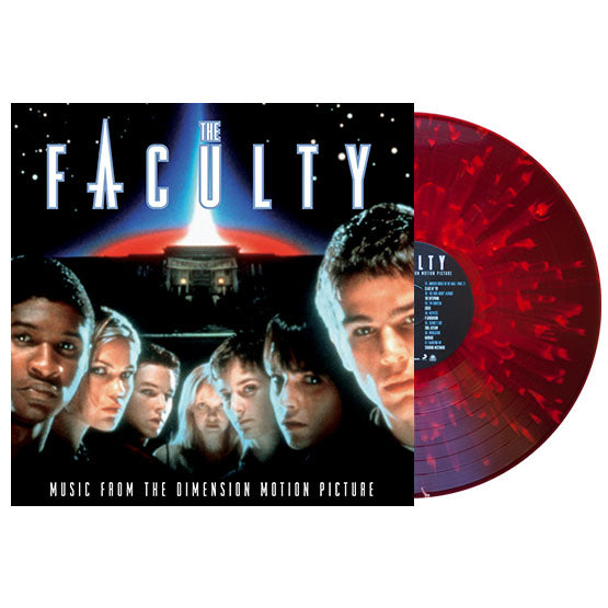 The Faculty - OST LP (Red / White Splatter)