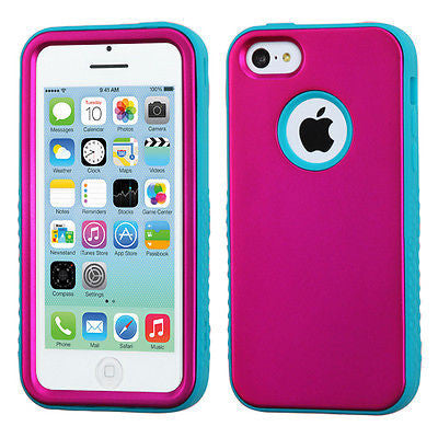 iPhone 5C Verge Hybrid Multi-Layer Shockproof Cover Case