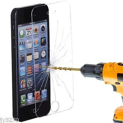 iPhone 5S 5C 5 Premium 9H Tempered Glass Film Screen Protector