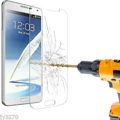 Samsung Galaxy Note 2 Premium Tempered Glass Film Screen Protector