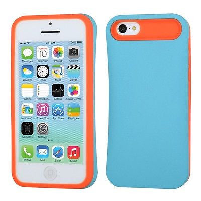 iPhone 5C Hidden Card Wallet Back Hard Cover Case
