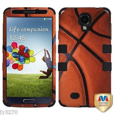 Samsung Galaxy S4 Basketball Collection Hybrid Multi-Layer Shokproof Hard Case