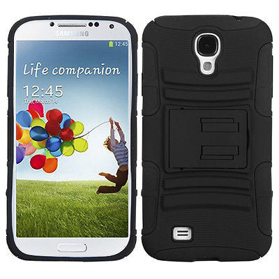 Samsung Galaxy S4 Advanced Armor Multi-Layer Case with Stand & Holster