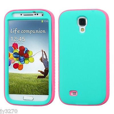 Samsung Galaxy S4 Hybrid Glow-in-the-Dark Multi-Layer Shockproof Case