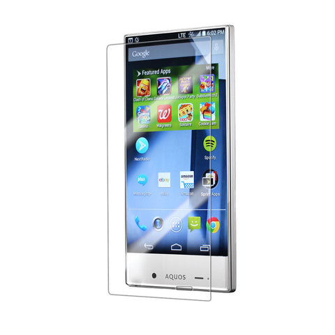 For SHARP 306 Aquos Crystal Tempered Glass Screen Protector