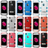 Apple iPhone 7 Plus Hybrid Rugged Hard Cover Shockproof Case w/ Stand