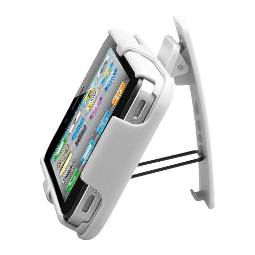 iPhone 4S 4 Shell Holster Combo with Kickstand & Rotating Belt Clip