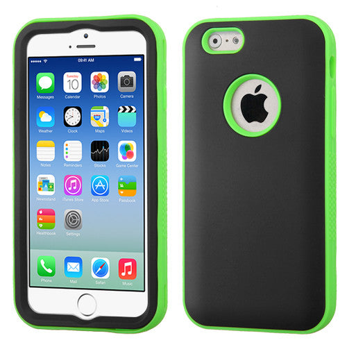 iPhone 6 Rubberized Glow-in-the-Dark Case Black/Green