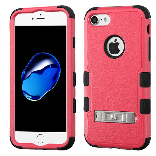 Apple iPhone 7 Hybrid Dual Layer Hard Cover Shockproof Case w/ Stand