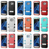 Samsung Galaxy S7 EDGE Hybrid Hard Cover Case w/ Stand