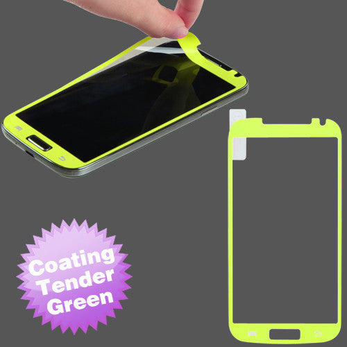 Samsung Galaxy S4 Color Accented Screen protector