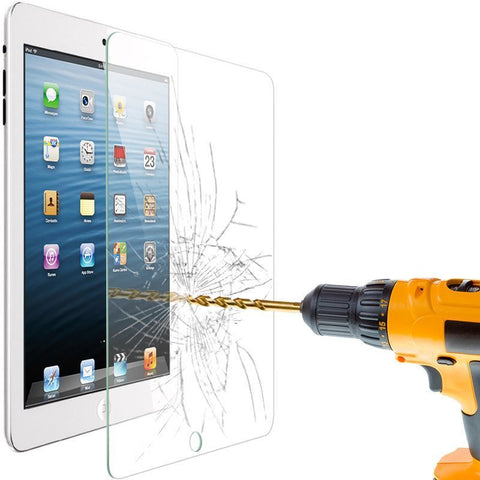 iPad 5 Air Premium Screen Protector 9H Tempered Glass Shatter Proof