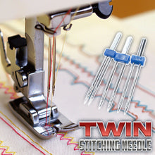 Load image into Gallery viewer, Twin Stitching Needle (3 Pcs)