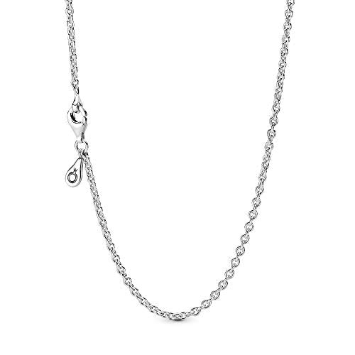Pandora Jewelry Silver Chain Sterling Silver Necklace, 17.7""