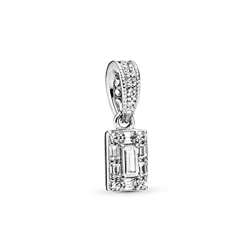 Pandora Jewelry Luminous Ice Cubic Zirconia Necklace in Sterling Silver
