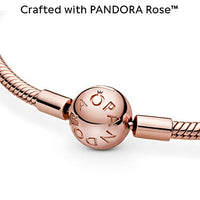 Pandora Jewelry Moments Snake Chain Pandora Rose Bracelet, 7.9""