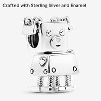 Pandora Jewelry Bobby Bot Sterling Silver Charm