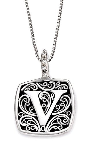 Lori Bonn Sweets Initial Pendant Necklace (V)