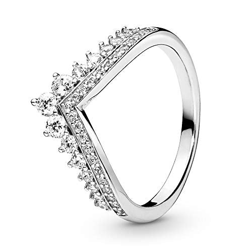 Pandora Jewelry Princess Wish Cubic Zirconia Ring in Sterling Silver