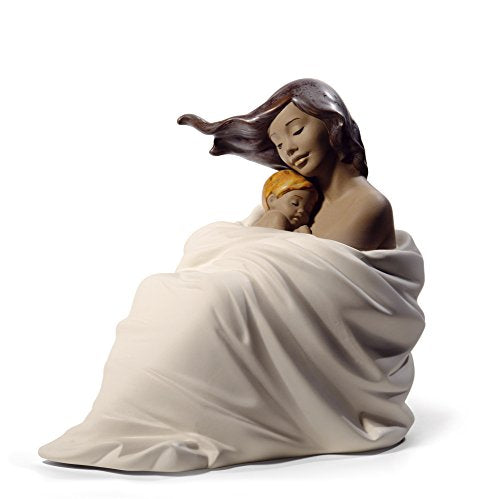 NAO Cozy Slumber. Porcelain Mother Figure.