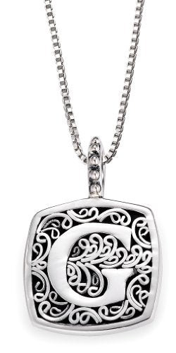 Lori Bonn Sweets Initial Pendant Necklace (G)