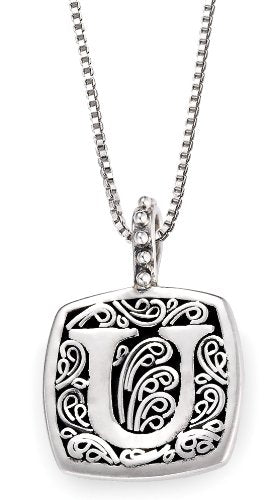 Lori Bonn Sweets Initial Pendant Necklace (U)