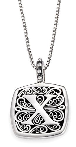 Lori Bonn Sweets Initial Pendant Necklace (X)