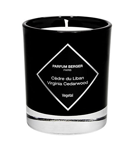 MAISON BERGER Virginia Cedarwood Candle, Black