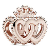 Pandora Jewelry United Regal Hearts Pandora Rose Charm
