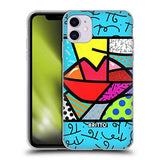 Head Case Designs Officially Licensed Britto Juicy Abstract Illustrations 2 Soft Gel Case Compatible with Apple iPhone 11