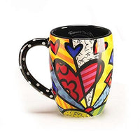 Heart Mug by Romero Britto by Romero Britto