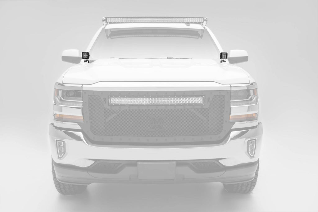 (2014-2020) Silverado A Pillar Mounts