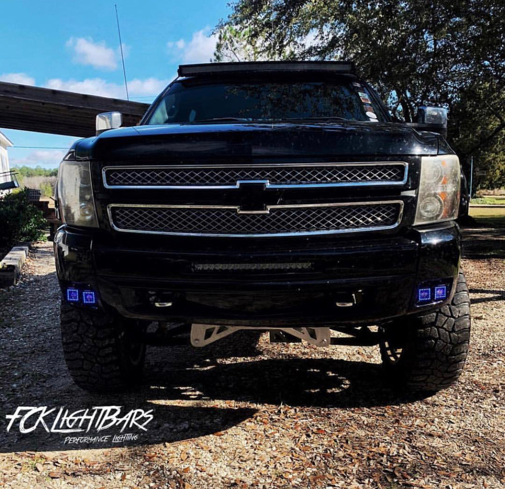 [2007-2014] Silverado/Sierra Dual Fog Light Kit (4 pods)