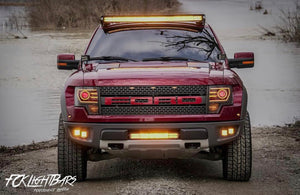 10-14 Ford Raptor Fog Light Mounts (4 Pods)