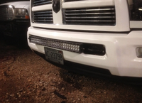 "[2005-2014] dodge 30"" light bar bumper brackets"