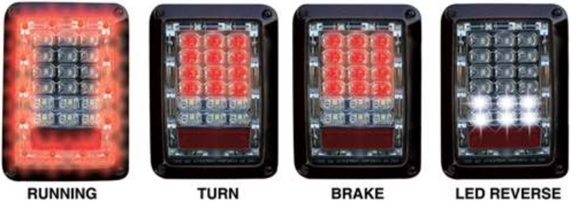 Jeep Jk Tail Light [2007-2018]