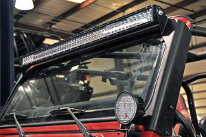 [1997-2006] JEEP TJ UPPER WINDSHIELD LIGHT BAR MOUNTS