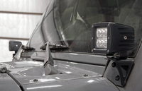 JEEP JK  WINDSHIELD LIGHT MOUNT