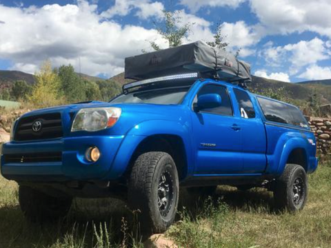 Products fcklightbars 2005 2015 toyota tacoma roof brackets 2nd gen mozeypictures Images