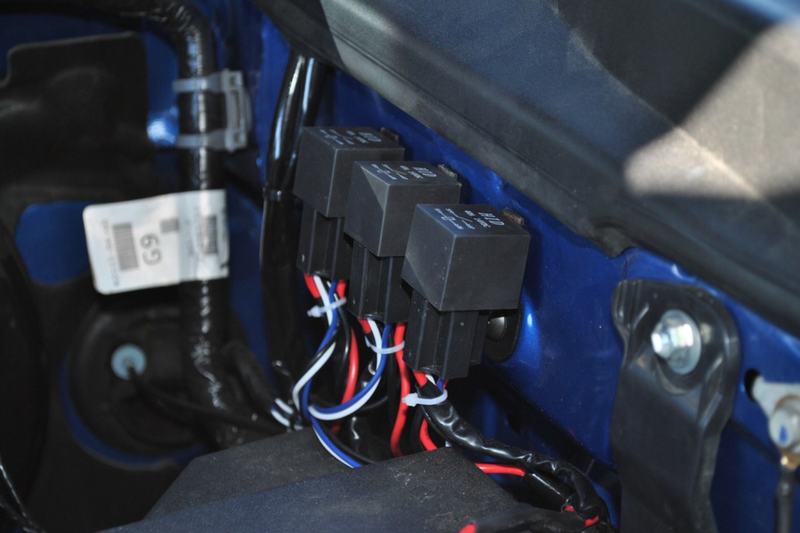 2005-2015  Toyota Tacoma Relay Bracket