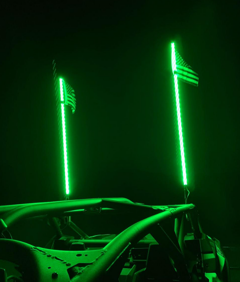 LED Whips  [ High - Intensity ]
