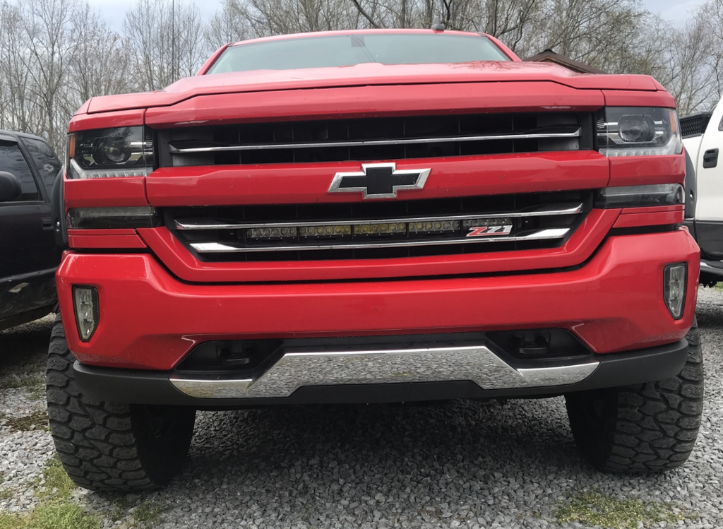 "(2014-2018) Silverado/Sierra [30"" Single Row Grille Kit]"
