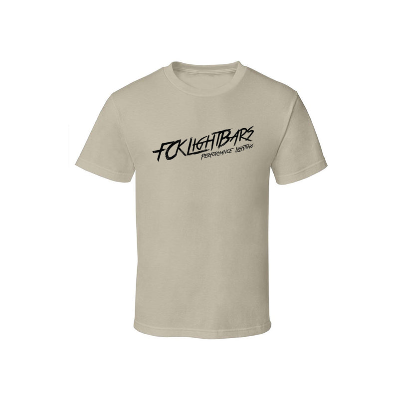Short Sleeve T-Shirt   [TAN/BLACK]