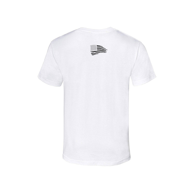 Short Sleeve T-Shirt   [WHITE/BLACK]